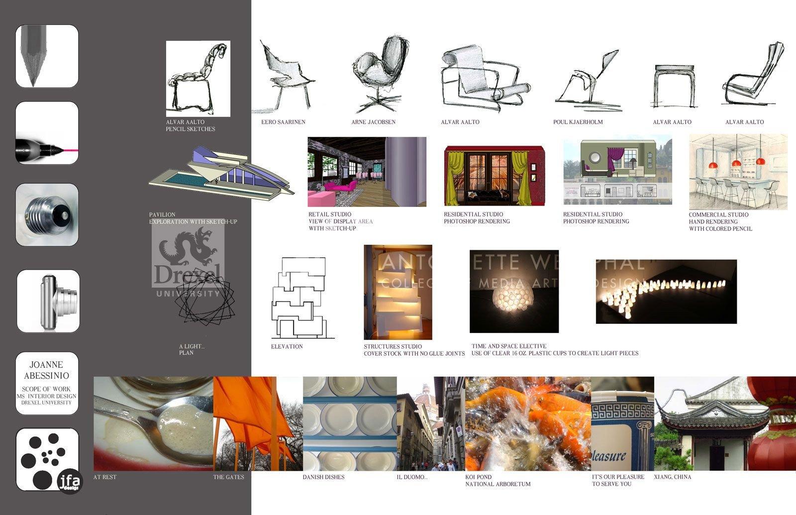 Interior Design Portfolio Template Interior Design Portfolio Examples Portfolio