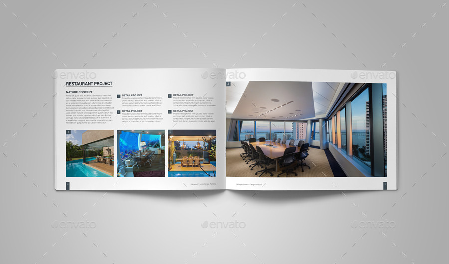 Interior Design Portfolio Template Interior Design Portfolio Template by Habageud