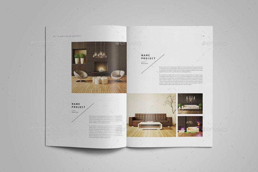 Interior Design Portfolio Template Interior Designer Portfolio Template