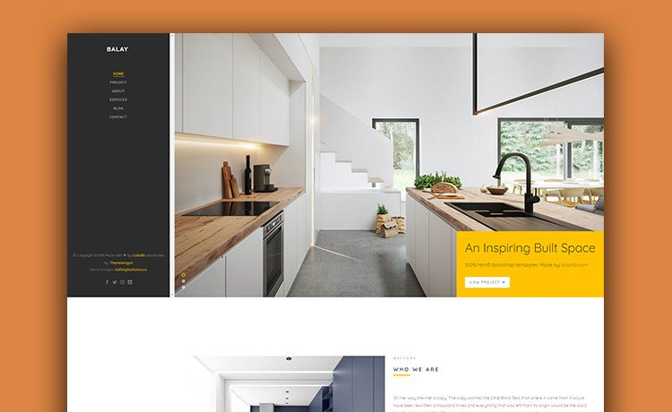 Interior Design Portfolio Template Make Your Website Great with This Free Interior Design