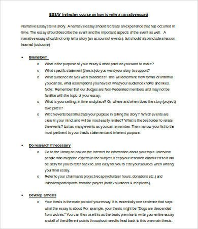 Interview Essay Examples Free 7 Interview Essay Templates Pdf Doc