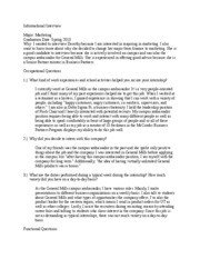 Interview Essay Examples Free Informational Interview Essay Informational Interview