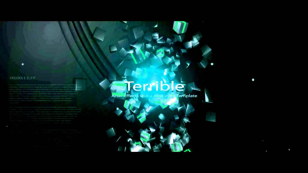 Intro Templates Free Download Free Intro Template Adobe after Effects Cs6 Amazing