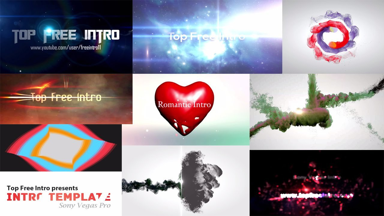 Intro Templates Free Download top 10 Intro Template sony Vegas Pro 13 2016 Download Free