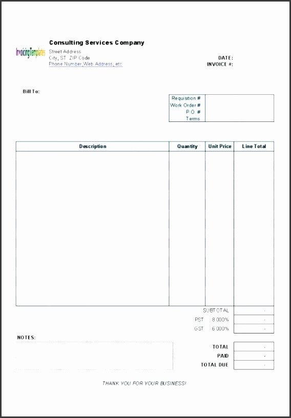 Invoice Templates for Macs 6 Invoice Template Word Sampletemplatess Sampletemplatess
