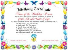 Iou Birthday Certificate Colorful Free Printable Iou Coupons Free Printables