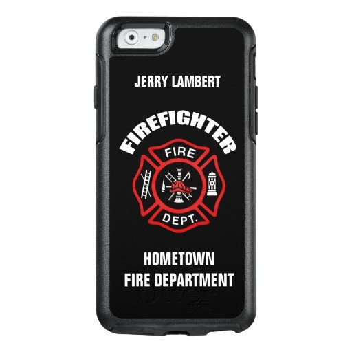 iPhone 6s Case Template Firefighter Name Template Otterbox iPhone 6 6s Case