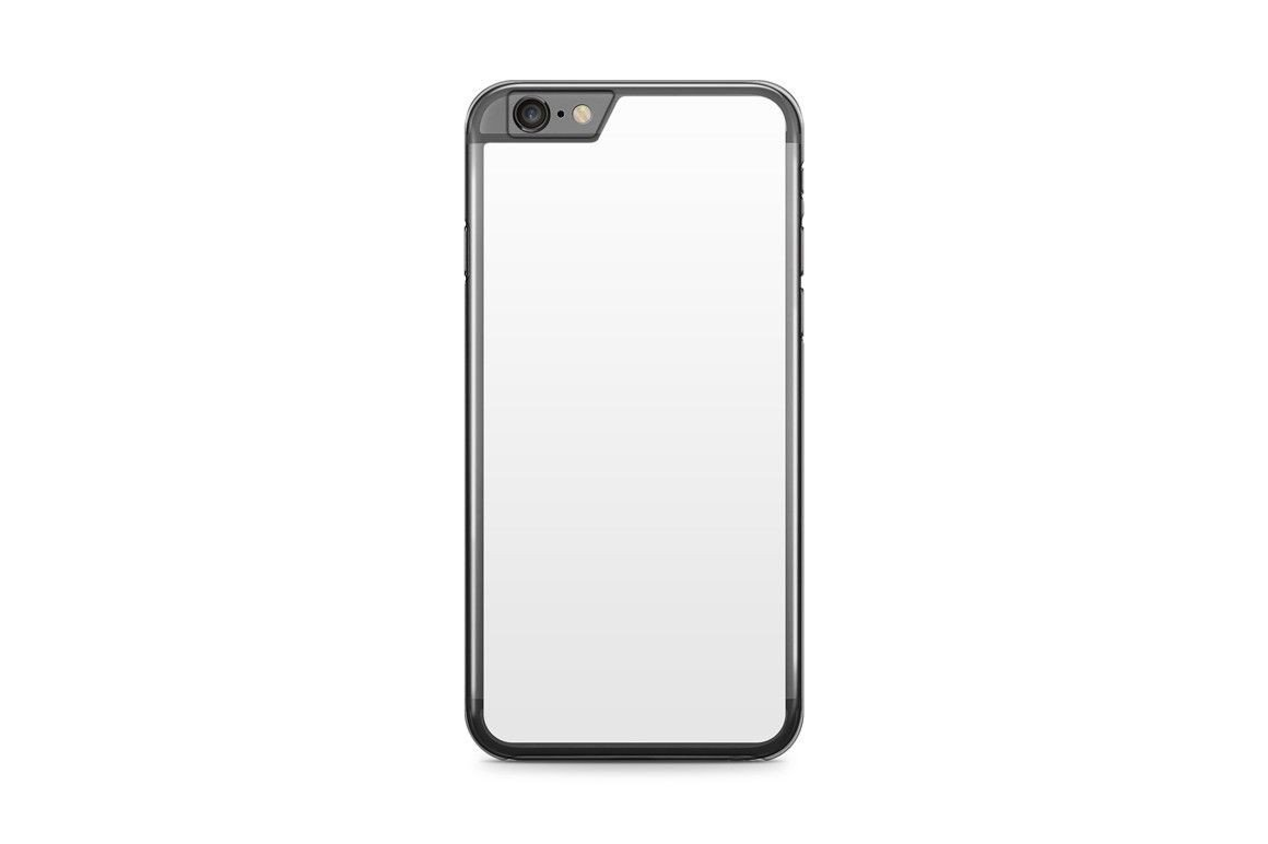 iPhone 6s Case Template iPhone 6 6s Plus Mobile Clear Case Design Mockup Psd