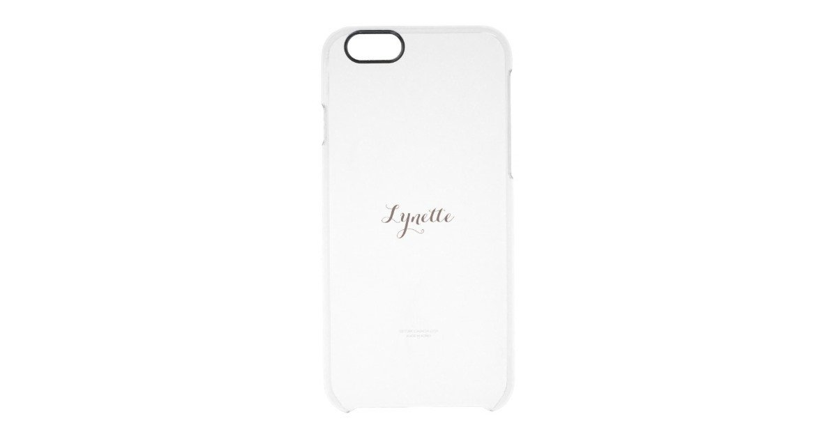 iPhone 6s Case Template Template iPhone Clear Clear iPhone 6 6s Case