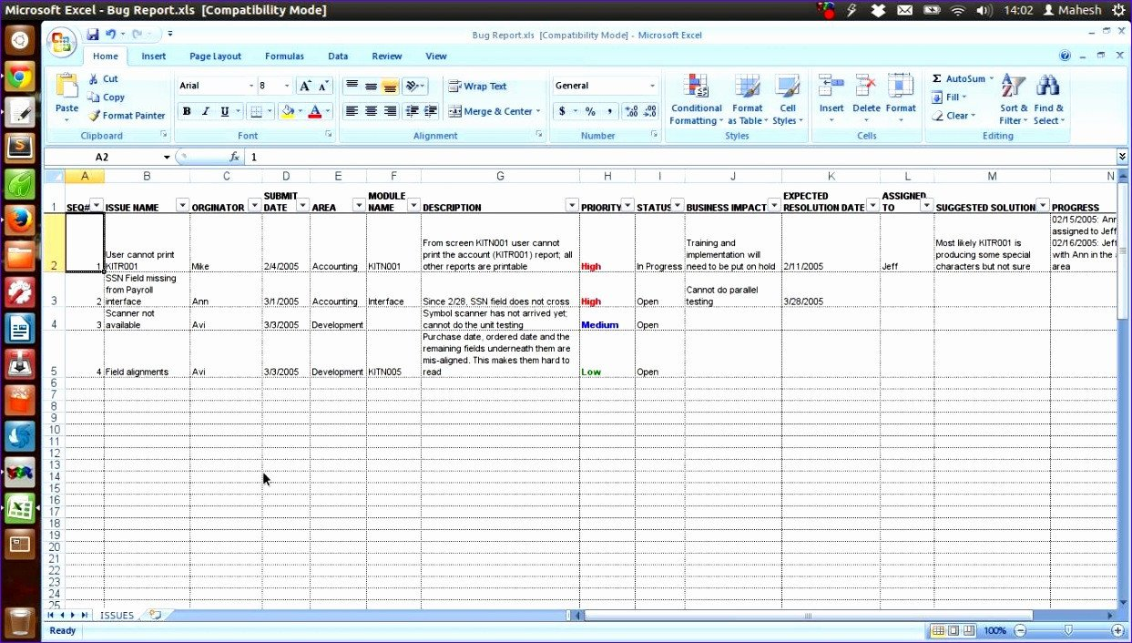 Issue Tracking Template Excel 14 Excel Dashboard Template Download Exceltemplates