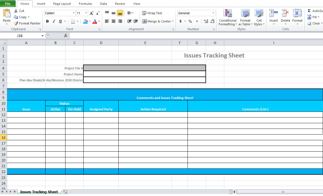 Issue Tracking Template Excel issue Tracking Template Excel Microsoft Excel Tmp