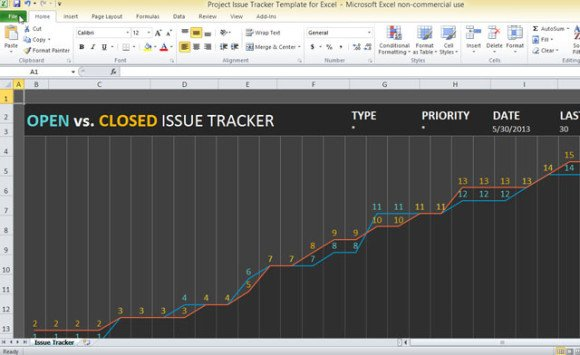 Issue Tracking Template Excel Project issue Tracker Template for Excel