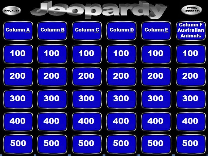 Jeopardy Powerpoint Template with Score 9 Jeopardy Powerpoint Templates Free Sample Example