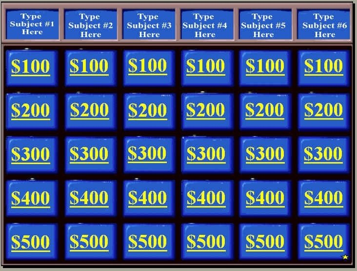 Jeopardy Powerpoint Template with Score Jeopardy Powerpoint Template with Score Icebergcoworking