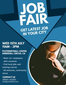 Job Fair Flyer Template event Flyer Templates