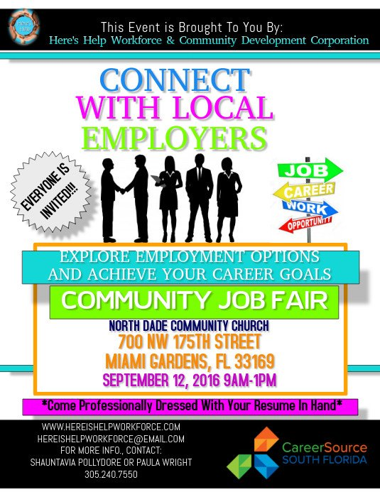 Job Fair Flyer Template Job Fair Flyer Template