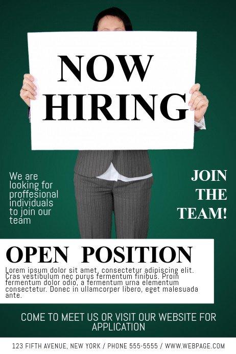 Job Fair Flyer Template now Hiring Job Fair Flyer Template