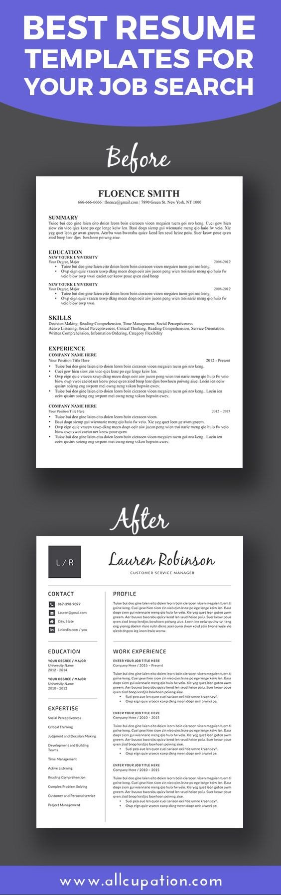 Job Posting Template Word Best 25 Best Resume Template Ideas On Pinterest