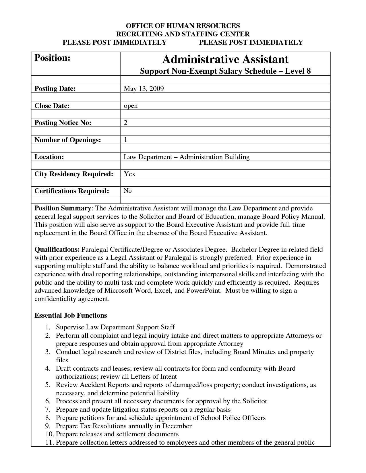 Job Posting Template Word Best S Of Template Job Posting Sample Job