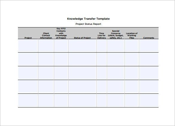 Job Transition Plan Template 12 Transition Plan Templates Free Sample Example