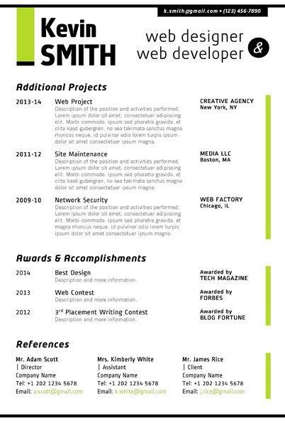 Junior Web Developer Resume Image Result for Jr Web Developer Resume
