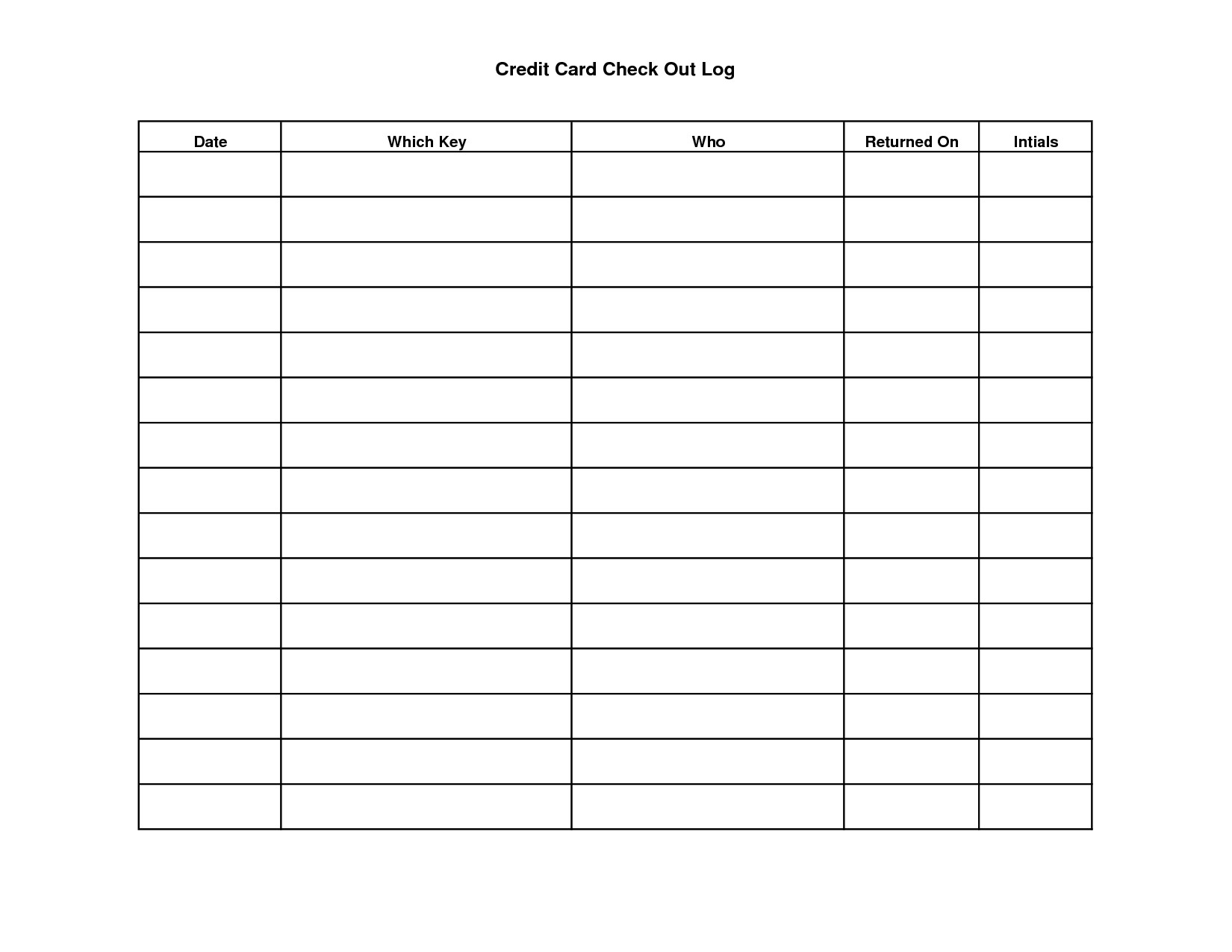 Key Sign Out Sheet Key Sign Out Sheet Template