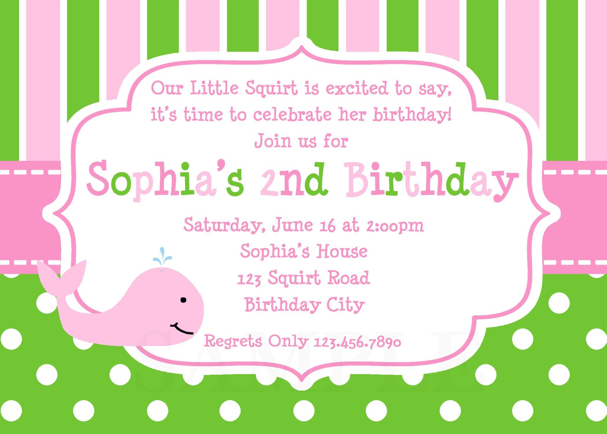 Kids Birthday Invitation Template 21 Kids Birthday Invitation Wording that We Can Make