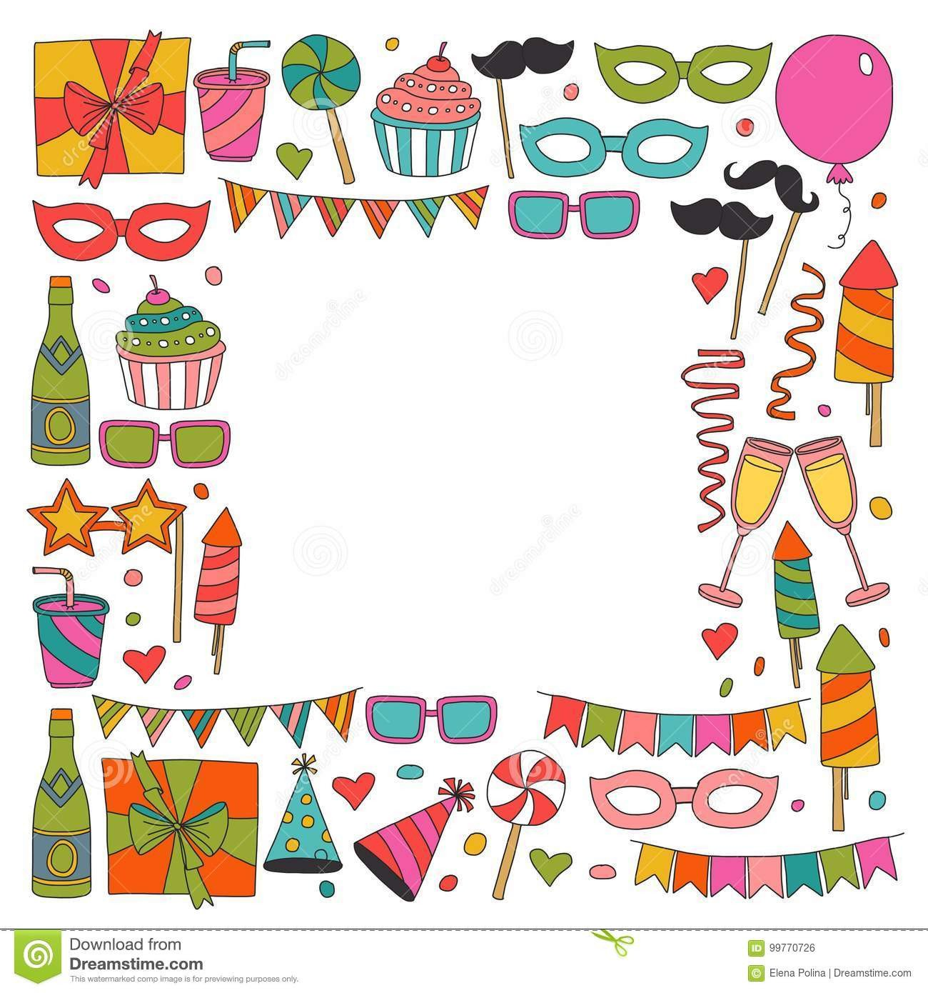 Kids Birthday Invitation Template Birthday Invitation Cards Drawing – Birthday Invitations