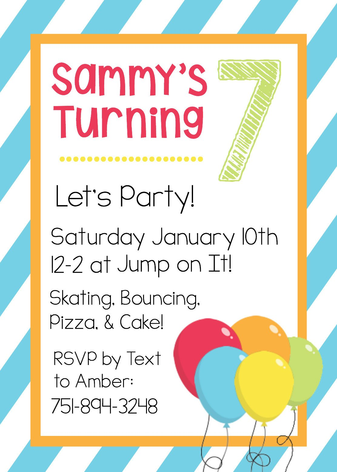 Kids Birthday Invitation Template Free Printable Birthday Invitation Templates
