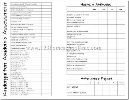 Kindergarten Report Card Template 25 Best Ideas About Kindergarten Report Cards On