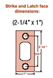 Kwikset Deadbolt Installation Template Drill Template