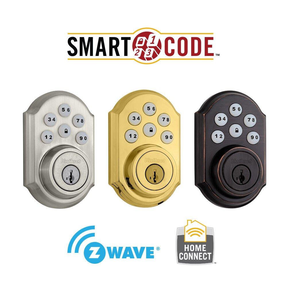 Kwikset Deadbolt Installation Template Kwikset 910 Z Wave Smartcode Electronic Deadbolt
