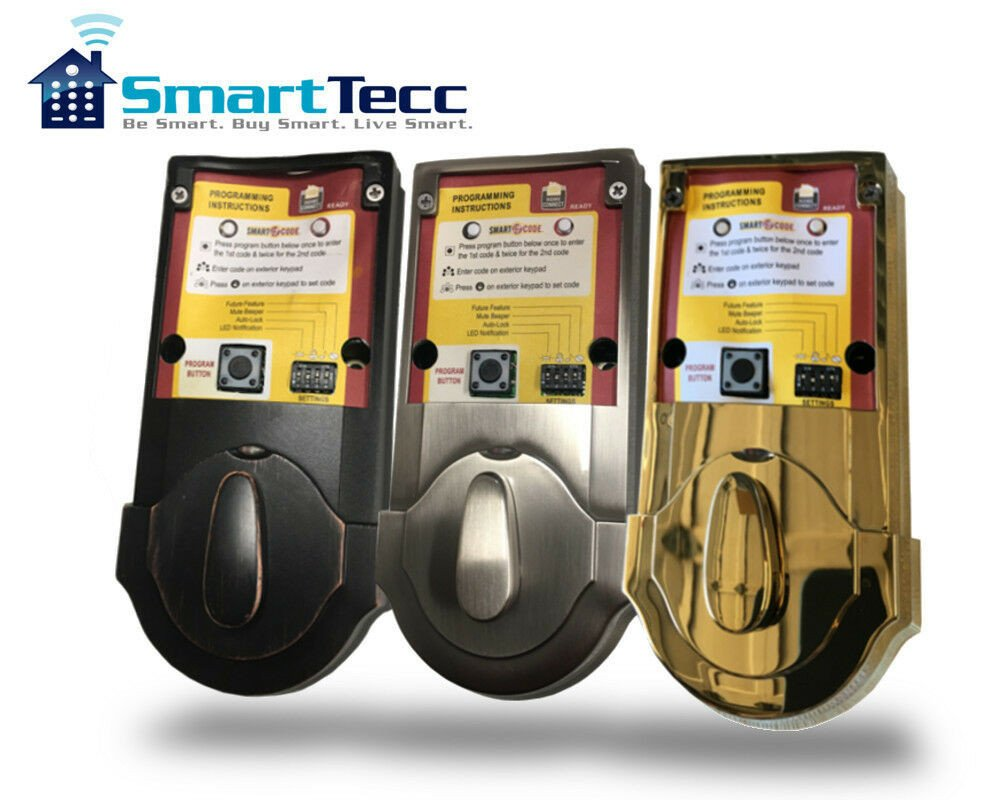 Kwikset Deadbolt Installation Template Kwikset Smartcode Keyless Entry 909 or 910 Deadbolt