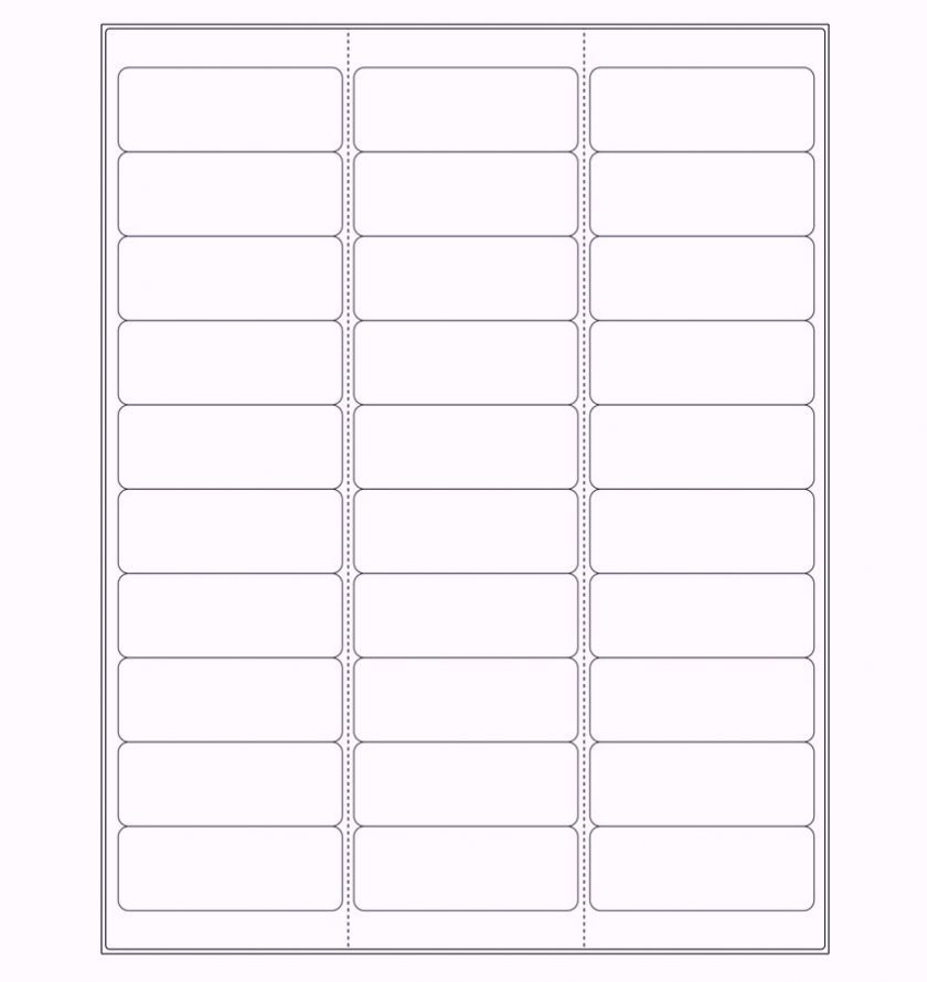 Label Template for Word Free Printable Address Label Templates Word