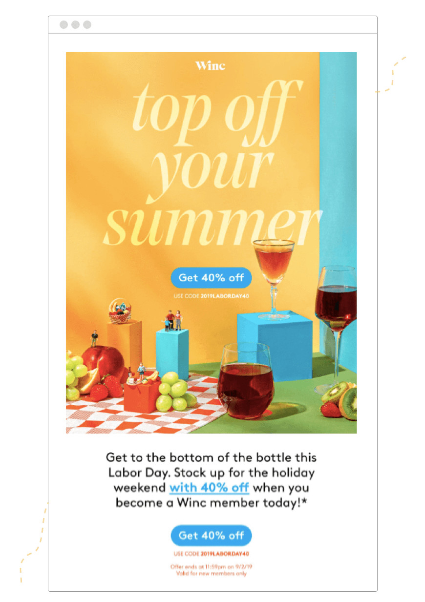 Labor Day Email Template 5 Labor Day Email Templates to Jumpstart September Sales