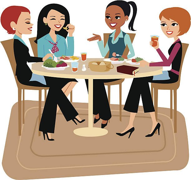 Ladies Luncheon Images Best La S Lunch Illustrations Royalty Free Vector