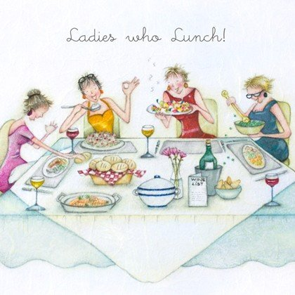 Ladies Luncheon Images Cards La S who Lunch La S who Lunch Berni Parker