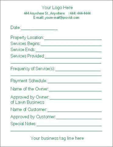 Landscaping Proposal Template Free Pin by Mandy Bridges Dow On Biz101