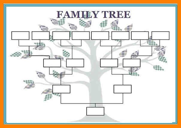 Large Family Tree Templates Best 25 Family Tree Templates Ideas On Pinterest