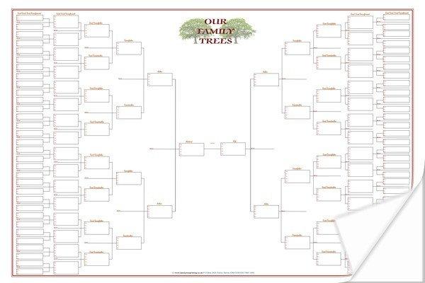 Large Family Tree Templates Blank Tree Charts