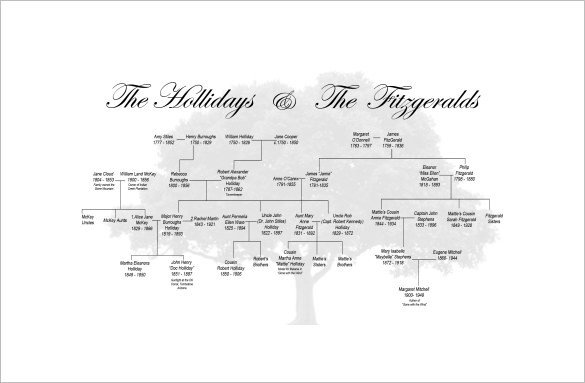 Large Family Tree Templates Family Tree Template 11 Free Word Excel format
