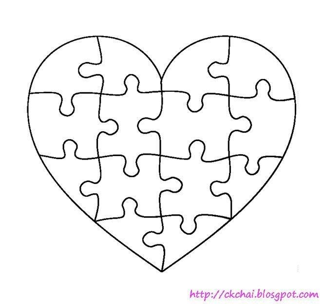 Large Puzzle Piece Template 1000 Ideas About Puzzle Piece Template Pinterest Free