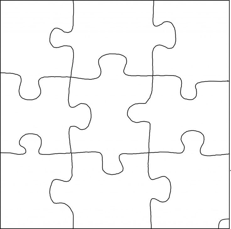 Large Puzzle Piece Template Pinterest • the World's Catalog Of Ideas