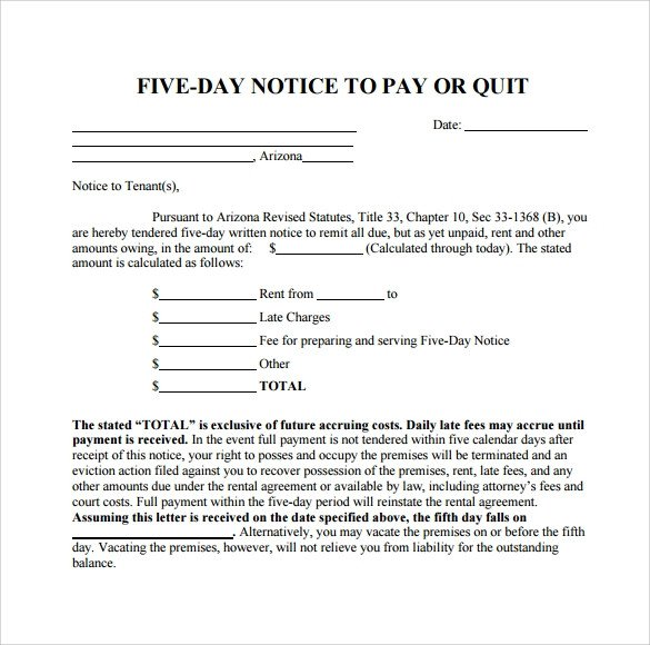 Late Rent Notice Template 10 Useful Sample Late Rent Notice Templates Pdf Google