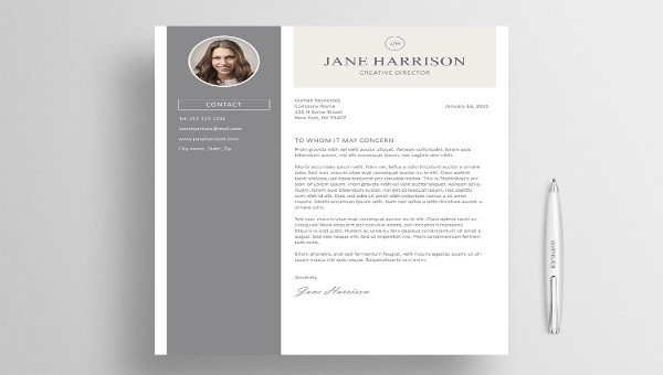 Latex Cover Letter Template 5 Latex Cover Letter Templates Free Sample Example
