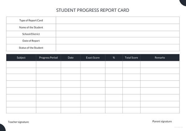 Lausd Report Card Template 17 Report Card Templates Free Sample Example format