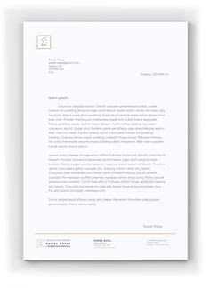 Law Firm Letterhead Template Lawyer & Law Firm Business Card & Letterhead Template