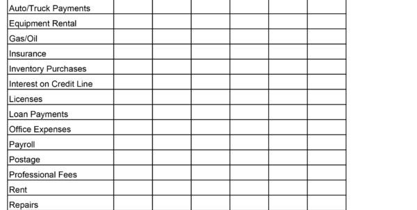 Lawn Care Business Expenses Spreadsheet Spreadsheet for Lawn Mowing Business Download Google