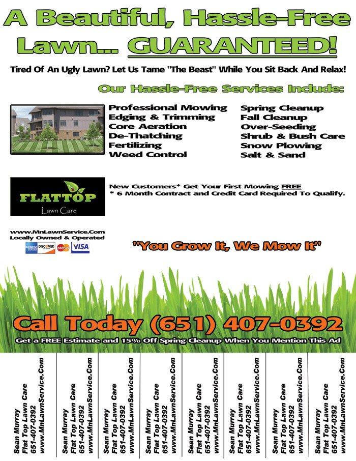 Lawn Care Flyer Template Free Lawn Care Flyer