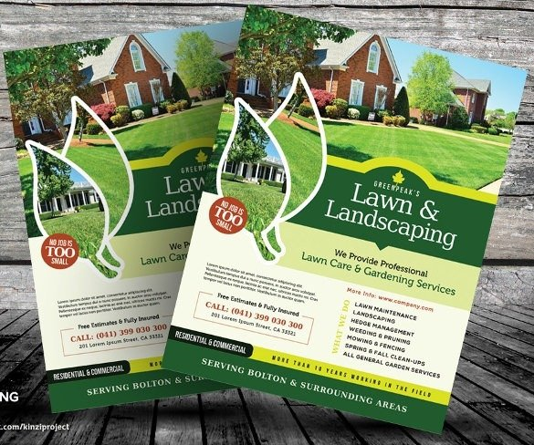Lawn Care Flyer Template Free Lawn Care Flyers Templates Free Icebergcoworking